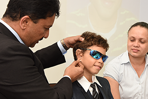 9 Year old boy from Seychelles gets a new external ear