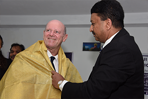 Hon'ble Alain St. Ange, Minister of Tourism & Culture, Republic of Seychelles, inaugurated the newly commissioned Craniotome at Balaji Dental and Craniofacial Hospital