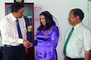 Dr. SM Balaji met the newly appointed Maldives Health Minister