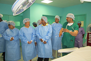 New Operation Theatre,Seychelles