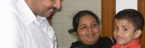 Cleft Lip Child with Dr Balaji