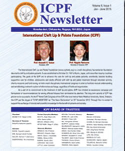 Newsletter of the International Cleft Lip & Palate Foundation