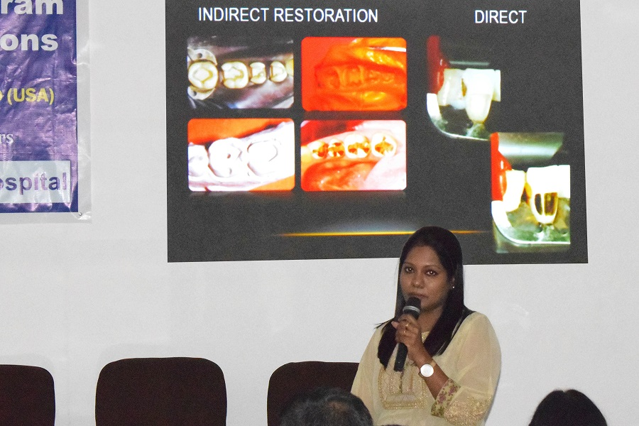 Dr. Priya Prabhakar's Lecture On Pulpal Reaction To Gold Restorations At The Cde Program