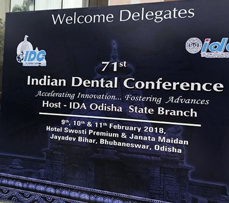 71St Indian Dental Conference Organized By The Indian Dental Association Odisha State Branch