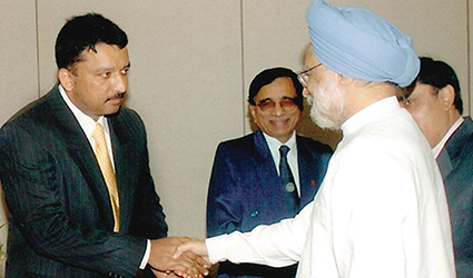Meeting Hon'ble Prime Minister of India