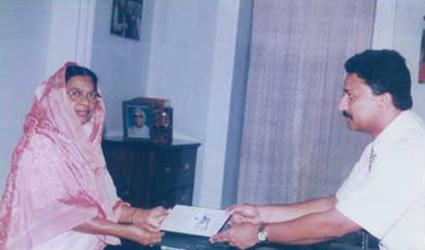 Fathima Beevi and Dr SM Balaji