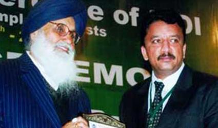 Outstanding Surgeon Award Dr SM Balaji