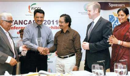 The Award of Appreciation, Dr SM Balaji