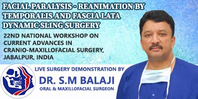 Dr SM Balaji, Maxillofacial Surgeon, India