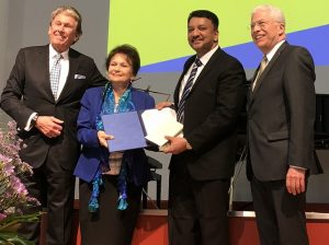Dr SM Balaji receives the highest scientific award