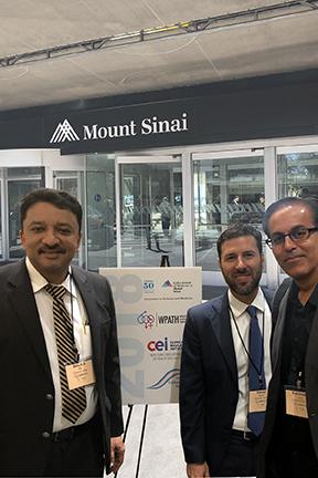 Prof S M Balaji With Dr Daniel Simon, Eminent Oral And Maxillofacial Surgeon And Dr Ravinder Jarial, Plastic And Reconstructive Surgeon Florida