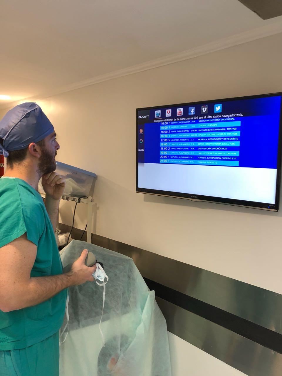 Oral And Maxillofacial Surgery Residents At The Hospital Aleman