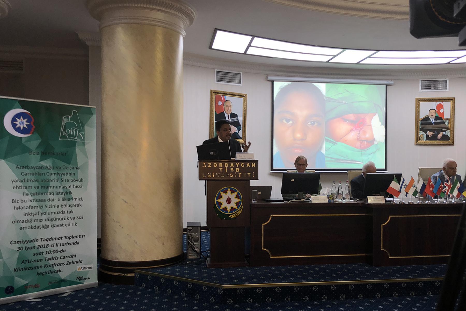Dr Sm Balaji Elucidating The Management Of Orofacial Clefts