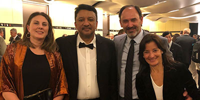 Dr SM Balaji attends the FDI Annual World Dental Congress in Buenos Aires