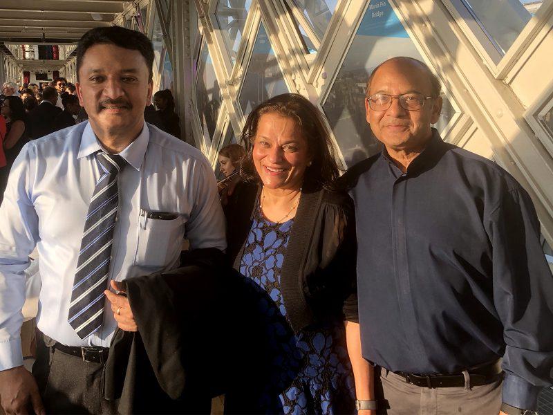 Dr SM Balaji with Dr Rena D' Souza, President IADR