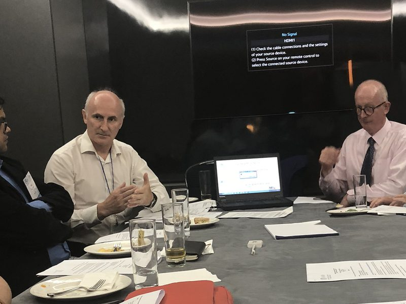 Dr Manu Mathur, Dr Peter Mossey and Dr Alexander Vieira at the Science Information Committee meeting