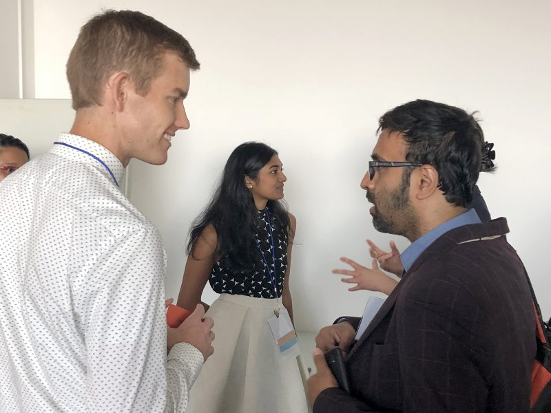 Dr Tanner Godfrey and Dr Madhan Balasubramaniam at the STAR Network meeting
