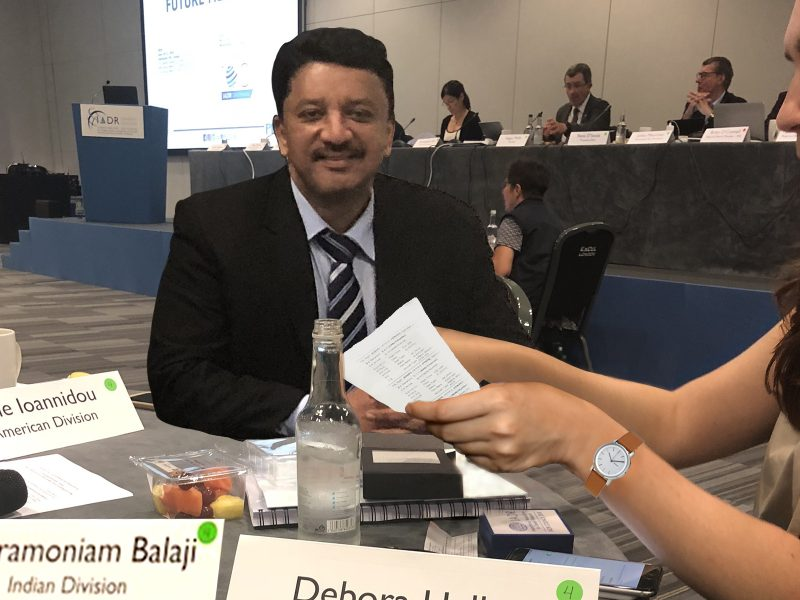 Dr SM Balaji participates in the IADR Council meeting