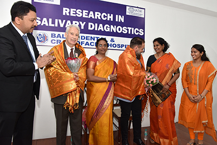 Dr Sm Balaji With The Speakers And The Guests