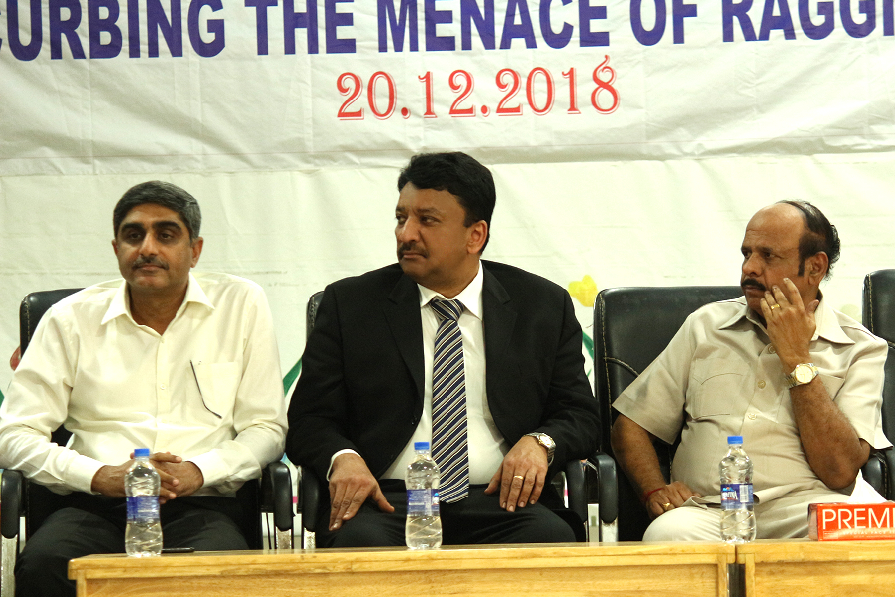 Prof Sm Balaji On The Dais With Prof V Rangarajan