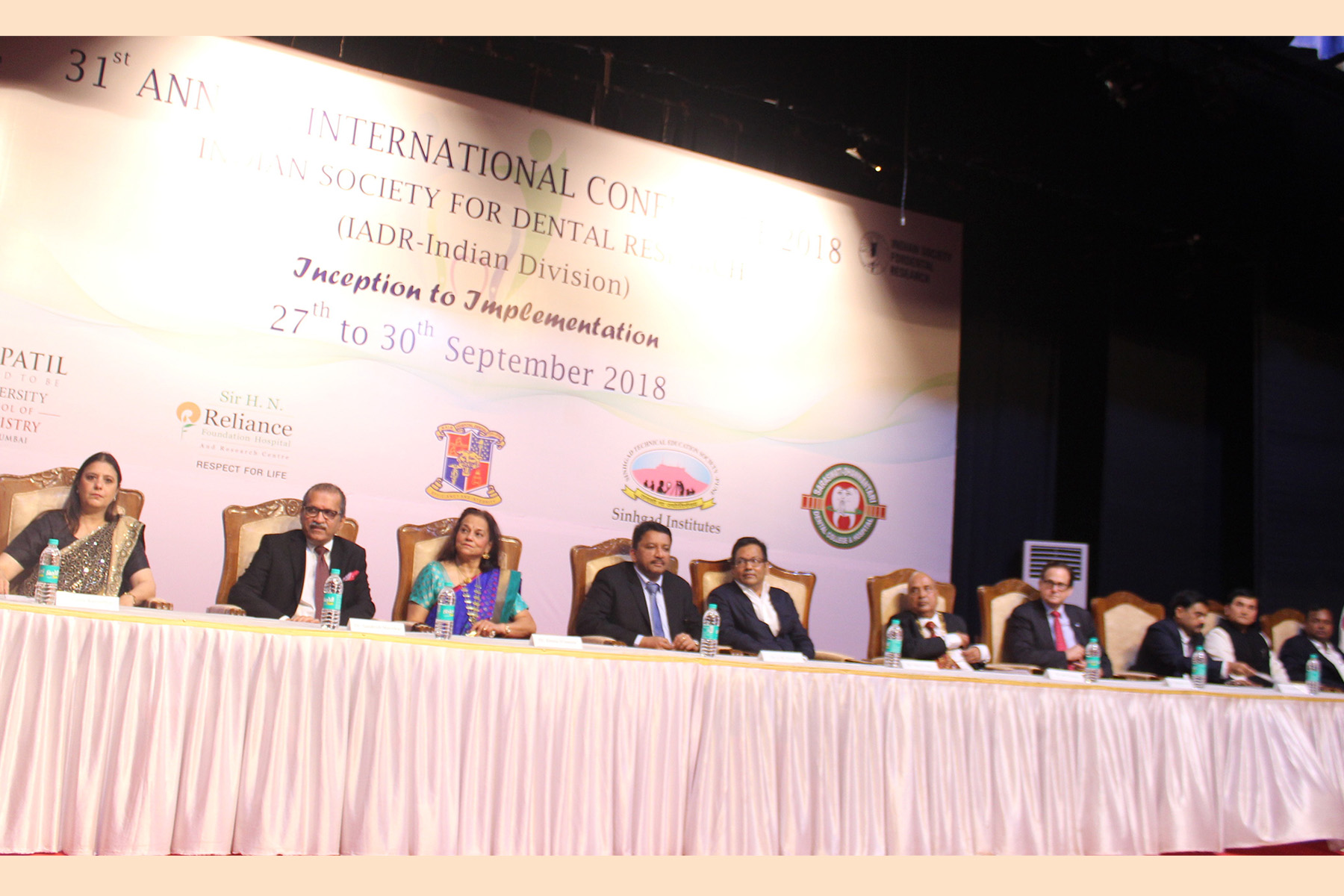 31st Indian Society for Dental Research-International Association for Dental Research Annual Conference