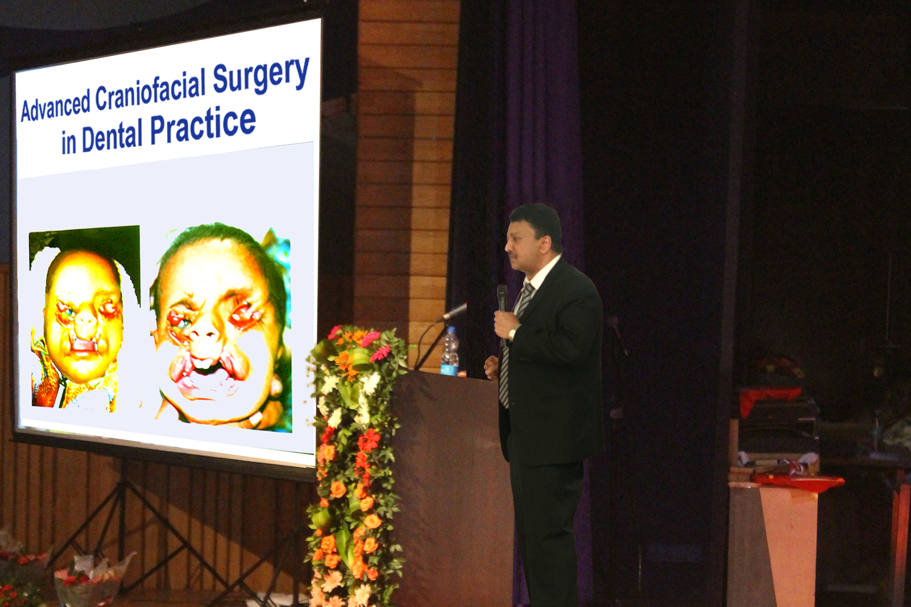 Dr Balaji delivered a lecture on Advanced Craniofacial Surgery in Dental Practice, which was very well received by the audience