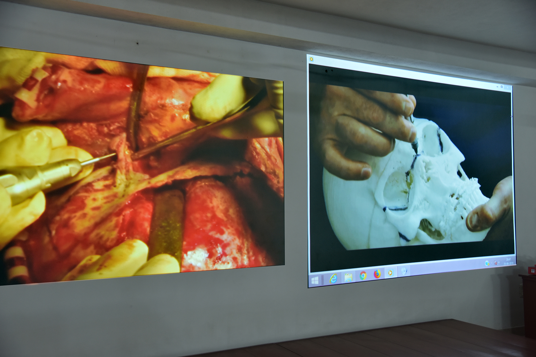 A view of patient videos
