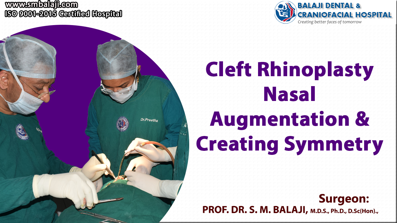 Cleft Rhinoplasty - Nasal Augmentation and Creating Symmetry