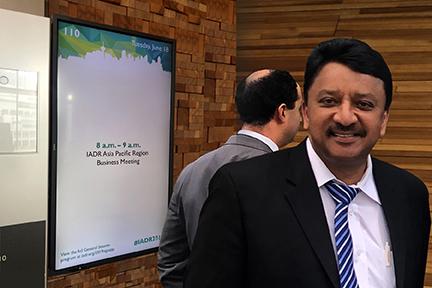 Dr S M Balaji At Iadr Vancouver