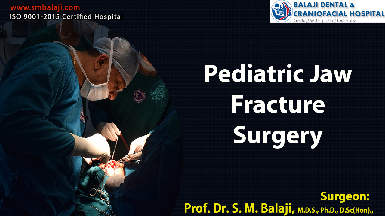 Pediatric Jaw Fracture Surgery