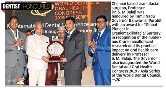 Global pioneer in Craniofacial surgery