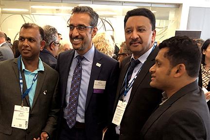 Dr Sm Balaji With Dr Nader Nadershahi, Dean, Arthur A Dugoni School Of Dentistry
