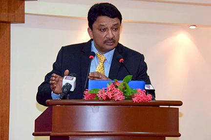 Dr SM Balaji delivers his presidential address