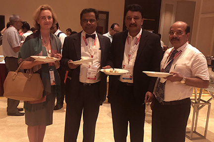 Dr Sm Balaji With Drs Joanne Peterson, C Rayappa And Babu Manohar