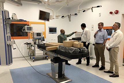 Operation Theater At Dharumavantha Hospital