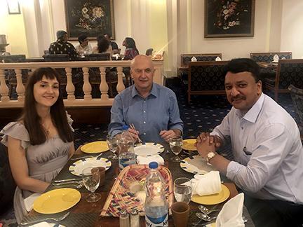 Recipients of Dr SM Balaji's hospitality