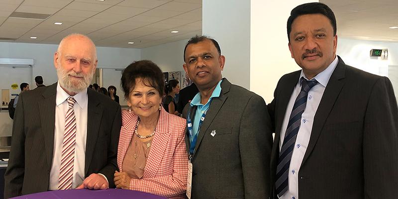Dr SM Balaji at San Francisco, California