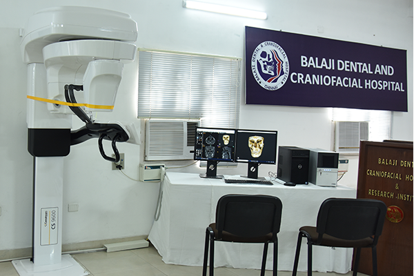 Cone Beam Computed Tomogram (Cbct) At Balaji Dental And Craniofacial Hospital, Chennai