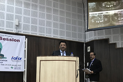 """Keynote Lecture On """"Advanced Oral Surgery In Dental Practice"""" By Dr Sm Balaji"""
