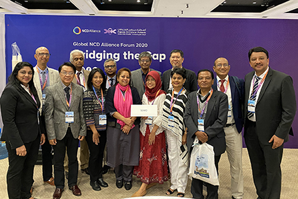 Dr Sm Balaji And Delegates From The Southeast Asian Regional Office (Searo) Nations At The Conclusion Of The Searo Meeting