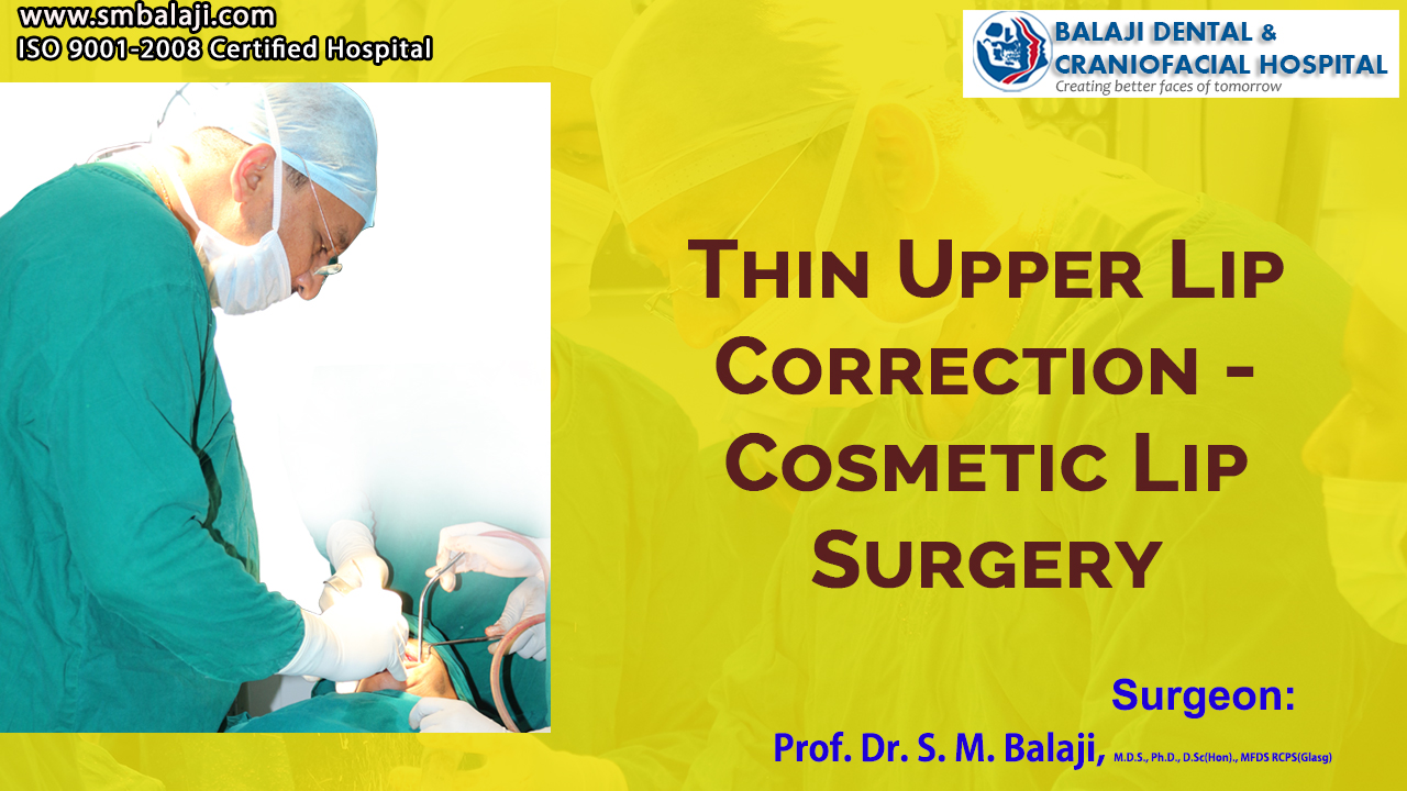 Thin upper lip correction - Cosmetic Lip Surgery