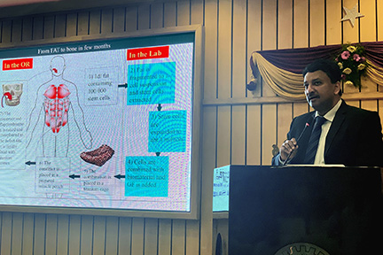 Dr SM Balaji enumerated his landmark cases during the course of his keynote lecture