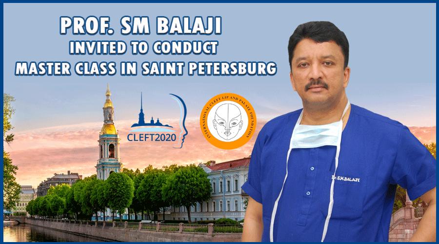 Prof. SM Balaji invited to Conduct Master Class in Russia